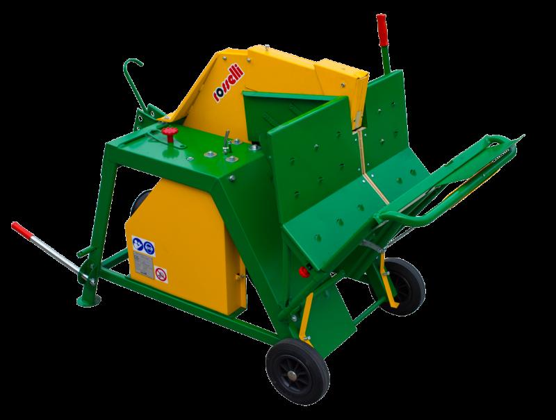 Sega circolare basculante a cardano per trattore Grizzly 700 R